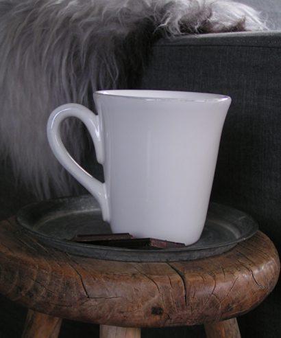 Coté Table Constance American Espresso Mug 10cl - wit (2 stuks)-0