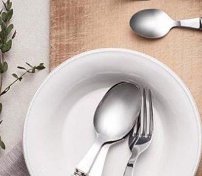 Coté Table Constance pasta - salade bord 27 cm - wit (2 stuks)-0