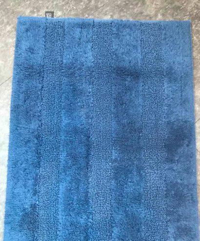 SOREMA - New Plus reversible badmat, 100% Katoen 1800 gram 60x90cm - Dark Denim-0