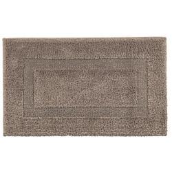 Graccioza Long Double Loop katoenen badmat (2100 grams) reversible 60x100cm - stone (beige)-0