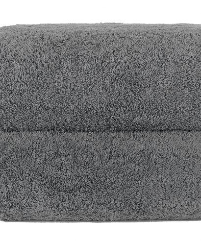 Graccioza Long Double Loop katoenen handdoek (700 grams) 70x140cm - anthracite-0